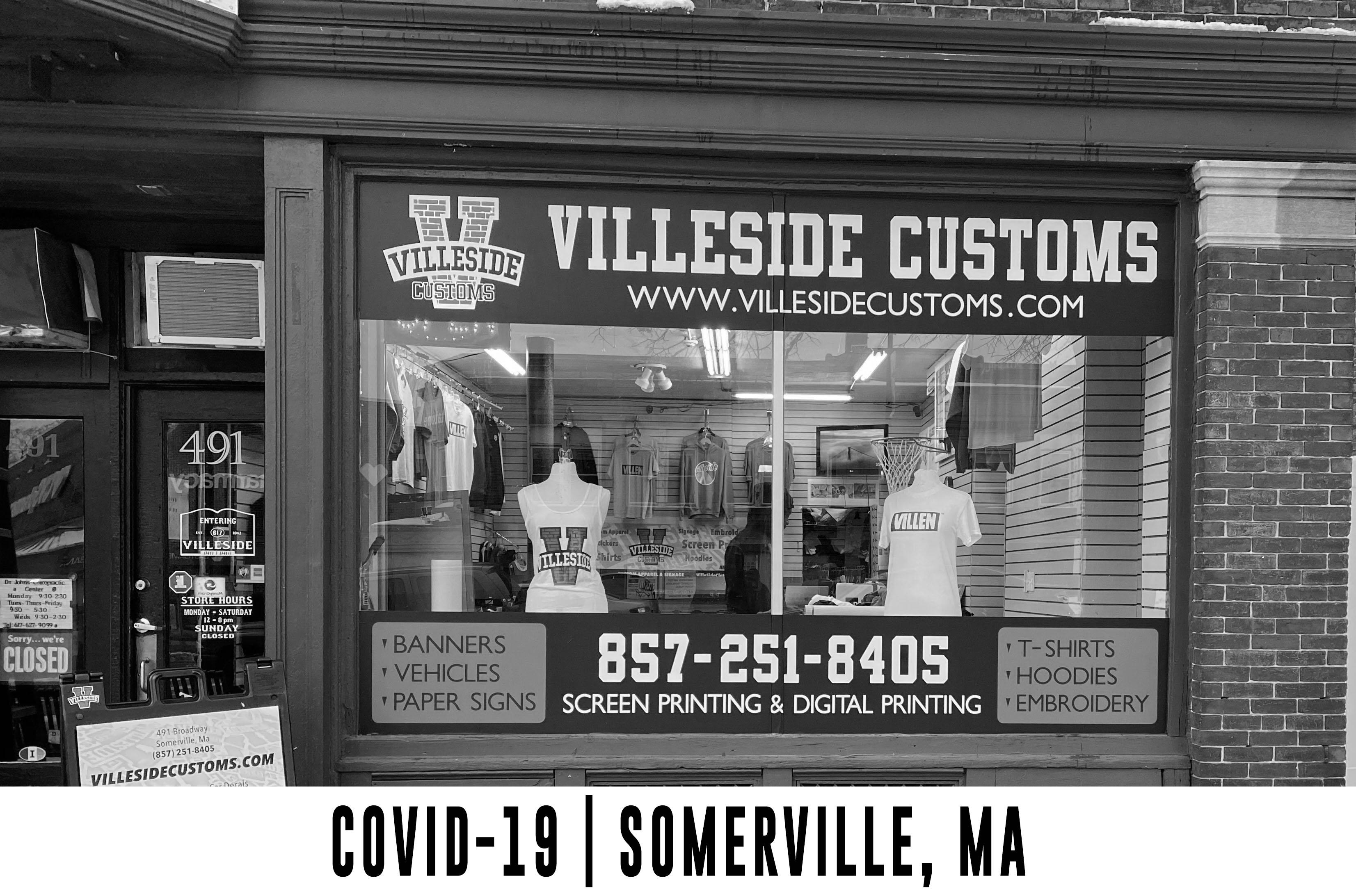 COVID-19 in Somerville at Villeside Customs